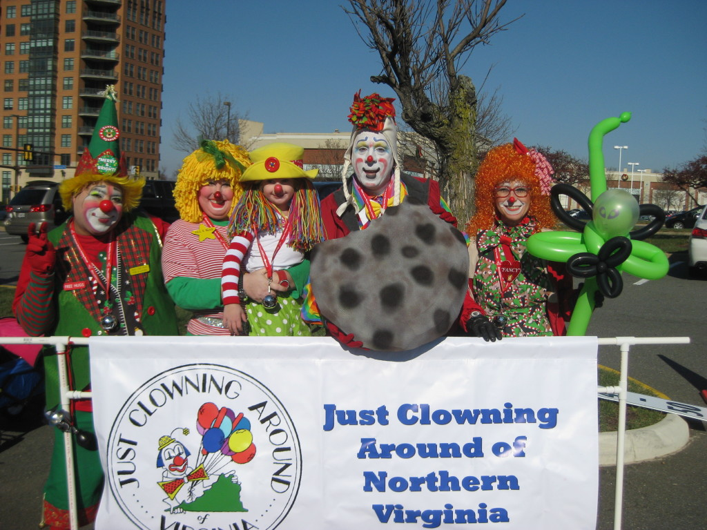 JCA Members at the Reston Holiday Parade
