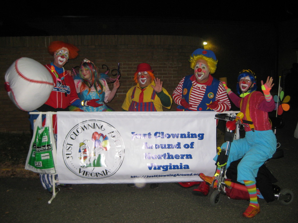 JCA Members at the Vienna Halloween Parade