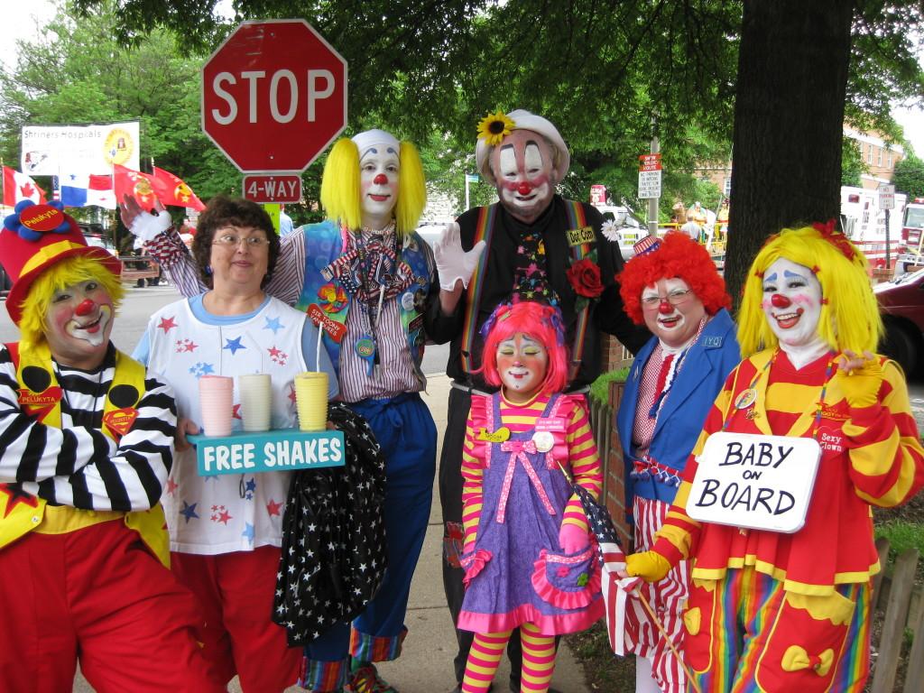 JCA members at a parade