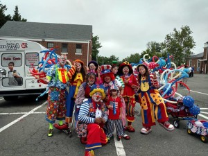 Just Clowning Around at the City of Fairfax Independence Day